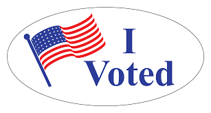 I voted sticker (PNG)