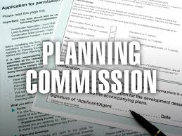 planning commission notice