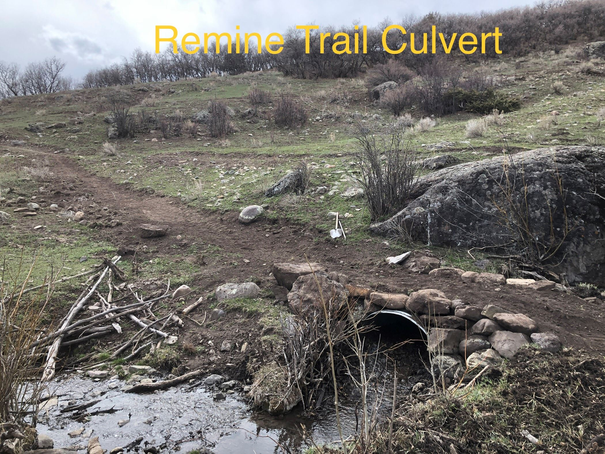 Remine Creek Trail Culvert