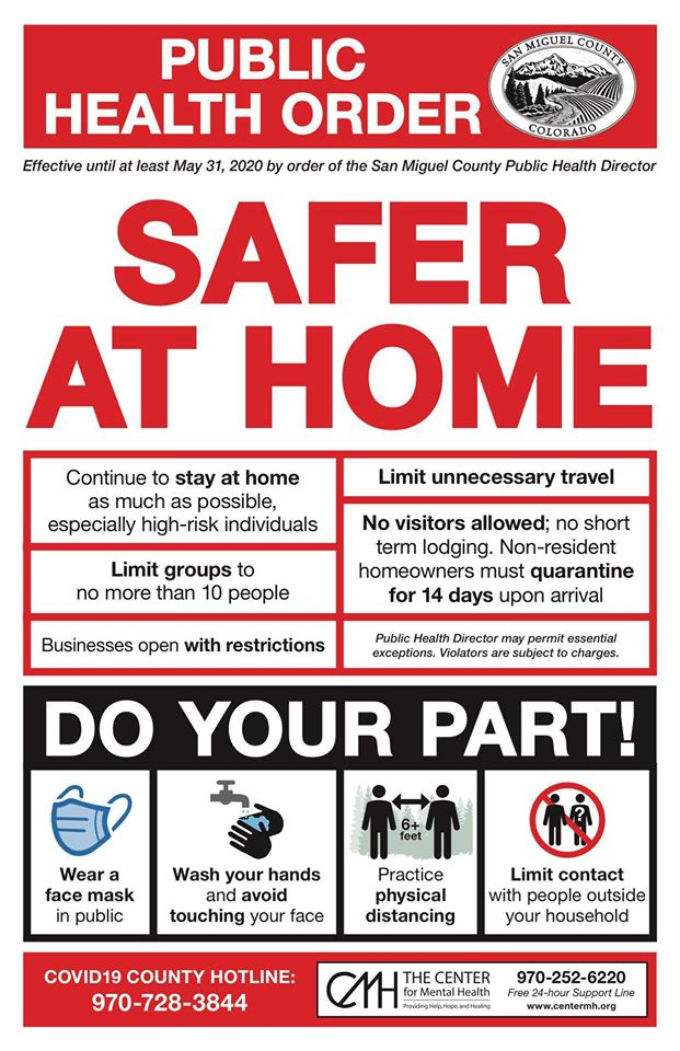 Safer at Home Poster Opens in new window